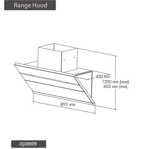 Fotile Hood JQG9009S