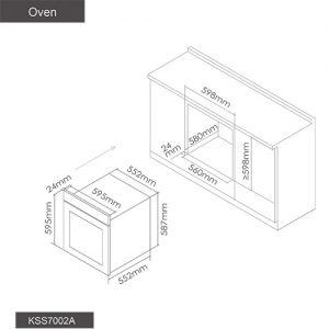 Fotile Kitchen Oven KSS7002A 02