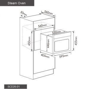 Fotile Kitchen Steam Oven SCD26 03