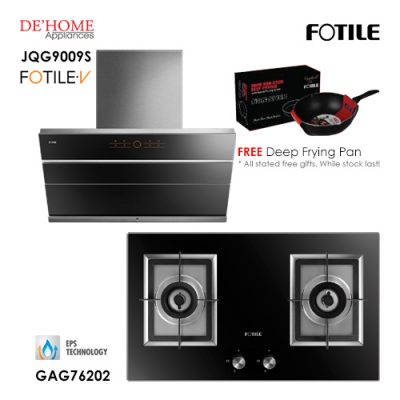 Fotile Built In Hood JQG9009S Gas Hob GAG76202