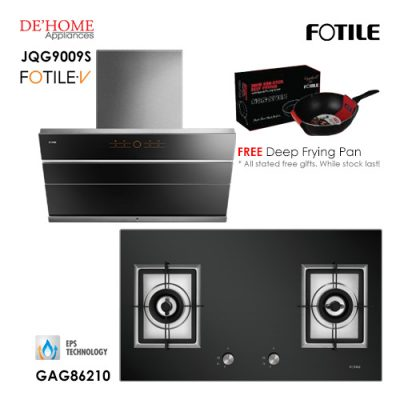 Fotile Built In Hood JQG9009S Gas Hob GAG86210