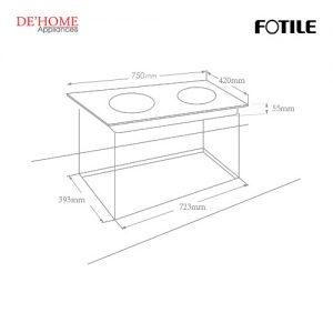 Fotile Built-In Vitro-Ceramic Electric Hob EEG75203 02