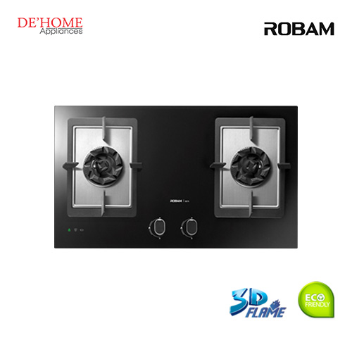 Robam Built-In 2 Burners Kitchen Gas Hob B978 001