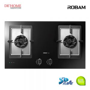 Robam Built-In 2 Burners Kitchen Gas Hob B978 01