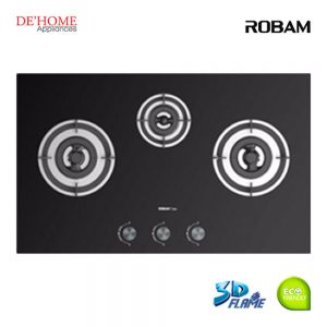 Robam Built-In 3 Burners Kitchen Gas Hob B396 01
