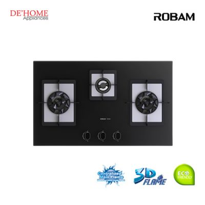 Robam Built-In 3 Burners Kitchen Hob B394