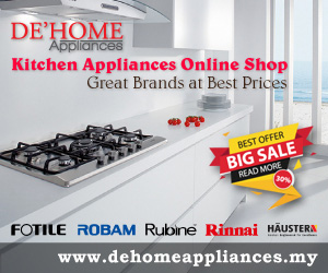dehome kitchen appliances ads