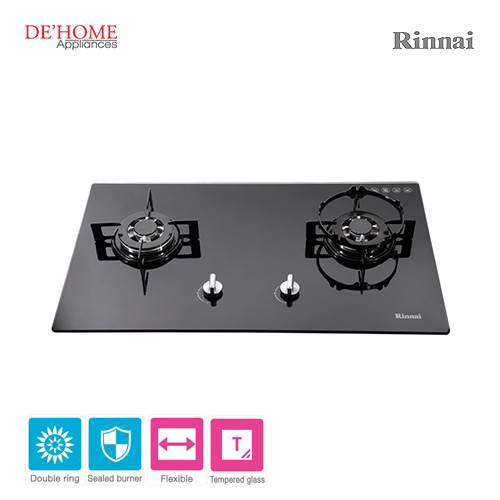 Rinnai Flexible Series 2 Burner Gas Hob RB-712N-G 001