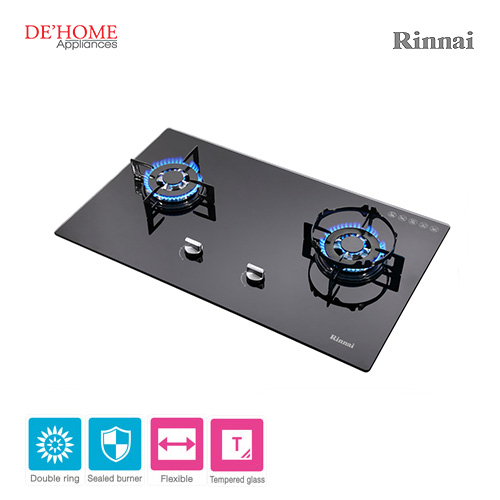 Rinnai Flexible Series 2 Burner Gas Hob RB-712N-G 002