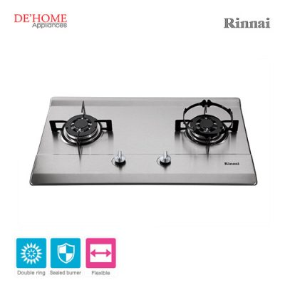 Rinnai Flexible Series 2 Burner Gas Hob RB-712N-S 001