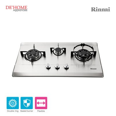 Rinnai Flexible Series 3 Burner Gas Hob RB-713N-S 001