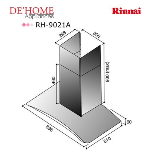 Rinnai Kitchen Chimney Range Hood RH-9021A 02