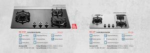 Rinnai Lotus Flame Burner Series Built-In Hob 03