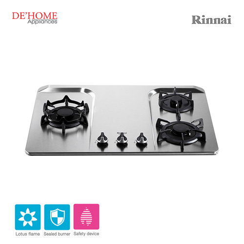Rinnai Lotus Flame Series 3 Lotus Burner Gas Hob RB-37F 001