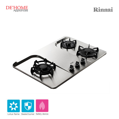 Rinnai Lotus Flame Series 3 Lotus Burner Gas Hob RB-37F 002
