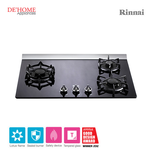 Rinnai Lotus Flame Series 3 Lotus Burner Gas Hob RB-37GF 001