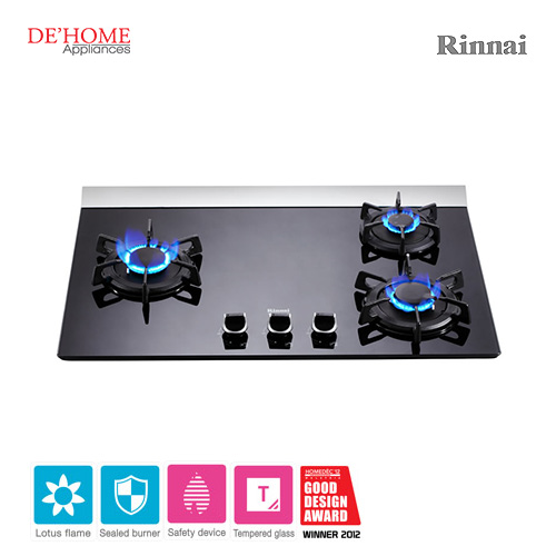 Rinnai Lotus Flame Series 3 Lotus Burner Gas Hob RB-37GF 002
