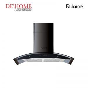 Rubine Kitchen Chimney Range Hood MCH-EBANO-90BL 01