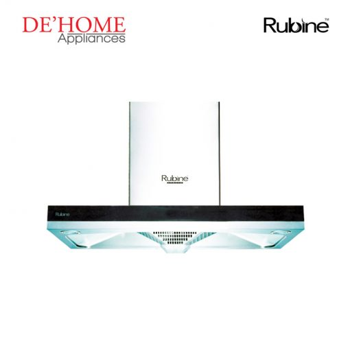 Rubine Kitchen Chimney Range Hood RCH-BOXLINE2-90SS 01
