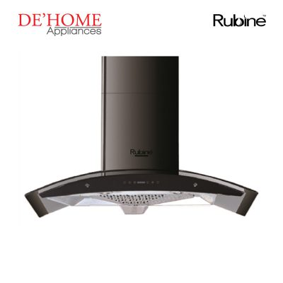 Rubine Kitchen Chimney Range Hood RCH-ONYX-90BL 01