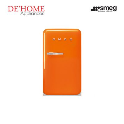 Smeg Kitchen Refrigerator Fridge FAB10RO Orange 01