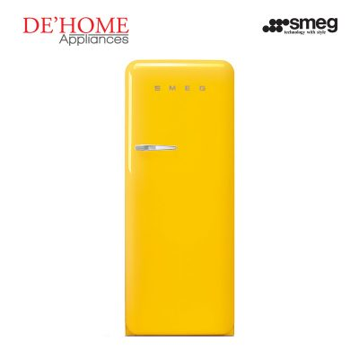 Smeg Kitchen Refrigerator Fridge FAB28RG1 Yellow 01