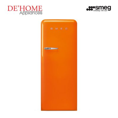 Smeg Kitchen Refrigerator Fridge FAB28RO1 Orange 01