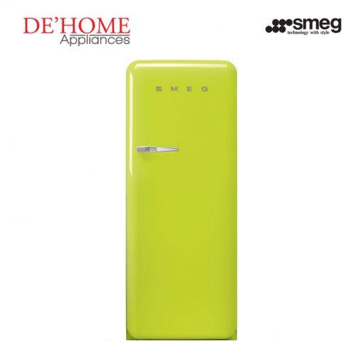 Smeg Kitchen Refrigerator Fridge FAB28RVE1 Lime Green 01
