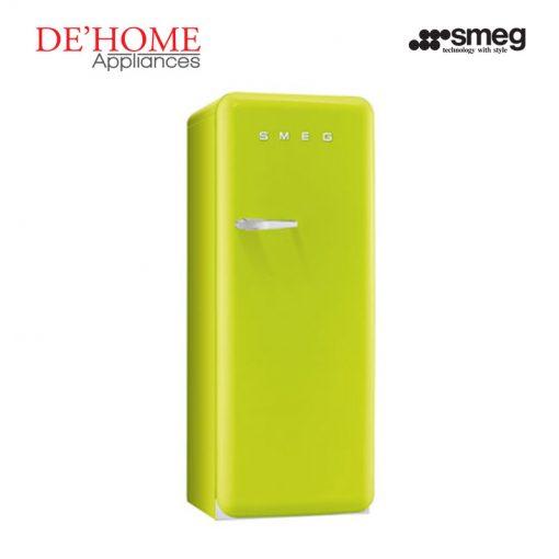 Smeg Kitchen Refrigerator Fridge FAB28RVE1 Lime Green 02